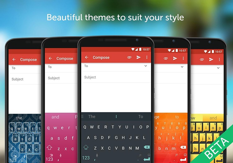 Clavier SwiftKey pour Android